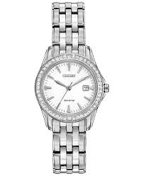 silver bracelet watches images Citizen women 39 s silhouette crystal eco drive stainless steel tif