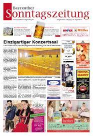 Svb Bad Bayreuth Bayreuther Sonntagszeitung Vom 31 08 2014 By Bayreuther