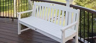 Trex Benches Shop Trex Outdoor Furniture Diyhomecenter Com