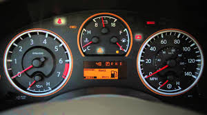 2012 nissan armada warning and indicator lights youtube