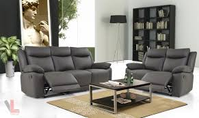 Reclining Sofa And Loveseat Sale Living Room Leather And Chair Set Genuine Leather Recliner
