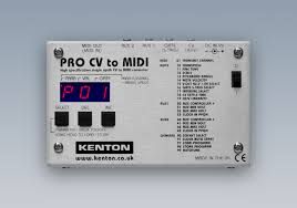 v cv cv capture the output of any instrument with pro cv to midi