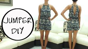 romper diy free pattern subtitled youtube
