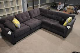 Gray Microfiber Sectional Sofa The Knot Your Personal Wedding Planner Nest Buy Grey