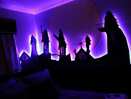 tim burton s the nightmare before glowing bedroom
