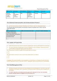 project planning template free excel project management templates