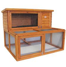 Best Rabbit Hutches Rabbit Hutch 2 Tier Extended Guinea Pig Pet House With Run