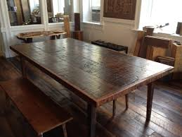 modern dining room tables wooden counter height farm dining table