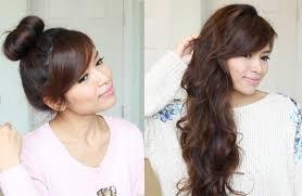 sock bun hair heatless curls hairstyle with a sock bun bebexo lifestyle
