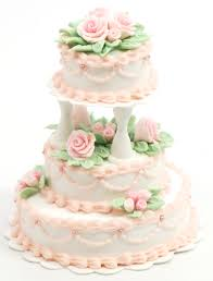 wedding cake roses 1 12 3 tier wedding cake with pink roses stewart dollhouse creations