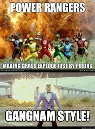 Power Ranger Meme - gangnam power ranger memes quickmeme