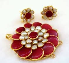 pachi earrings kundan jewellery pachi jewellery manufacturer from jaipur