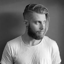 hair cut for men shaved on sides slicked back on top mens long hair with an undercut 20 stylish growing out your