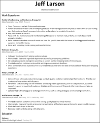 retail sales associate sle resume inside sales associate cover