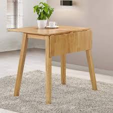 Drop Leaf Oak Table New Drop Leaf Space Saving Dining Table Light Oak