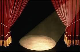 Curtains On A Stage For Barack Obama U201call The World U0027s A Stage U201d