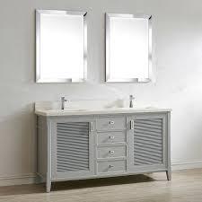 Two Sink Vanity Aurora 63