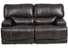 charcoal sectional sofa living room stampede 3 piece leather power sectional charcoal