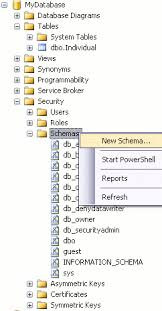 Sql Server Create Table Example Sql Server Database Schemas