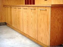 custom garage cabinets built using marine plywood for a beverly