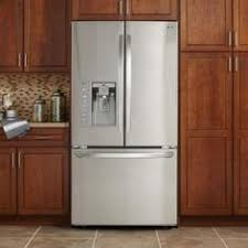 Stainless Steel Refrigerator French Door Bottom Freezer - lg electronics 29 8 cu ft french door refrigerator in stainless