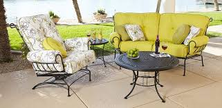 Wrought Iron Patio Table Set by Wrought Iron Patio Furniture Atlanta Wrought Iron Porch Set