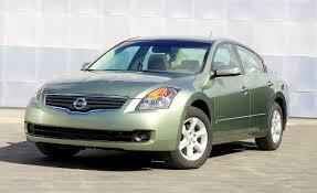 2009 nissan altima hybrid comparison tests comparisons car