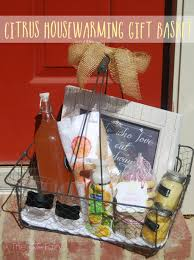 housewarming basket citrus housewarming basket with softsoap the tiptoe fairy