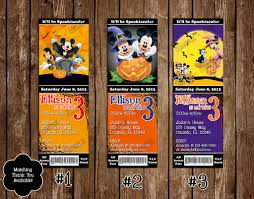 halloween bday party novel concept designs disney mickey mouse spooky halloween