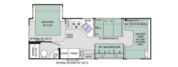 rv floor plans class c u2013 gurus floor