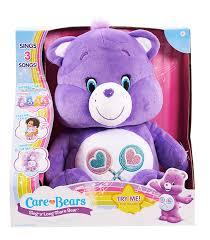 amazon care bears share sing long bear plush toys u0026 games