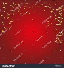 abstract glowing red background many falling stock vector