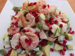 not your traditional thanksgiving dinner shrimp and potato salad