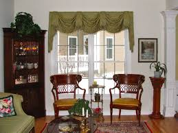 dining room valance valances top treatments traditional living room bridgeport for