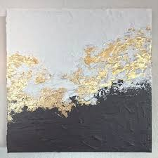 white and black gold foil leaf foiling paintings pinterest white and black gold foil leaf abstract painting ideas