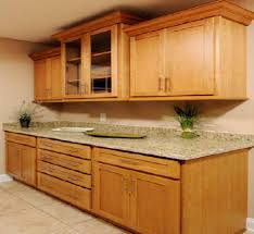 oak kitchen cabinets shaker door style cliqstudios intended