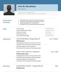 phlebotomy resume sample no experience phlebotomy resume picture