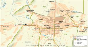 Kabul Map Kandahar Map Online Map