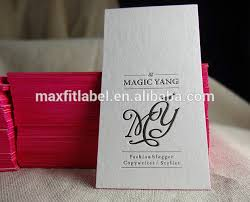 Business Cards Quick Delivery Letterpress Embossing Color Edge Business Card Printing Buy