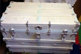 How To Shabby Chic Paint by Shabby Chic Trunk Re Do Hometalk