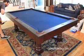 Wood Pool Table Fairfield Contemporary Pool Table U2013 Dk Billiards Pool Table Sales