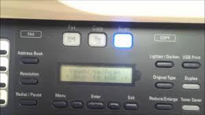 xerox 3300 scan to network setup youtube