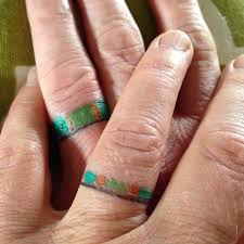 78 wedding ring tattoos done to symbolize your love ring finger