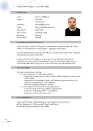 Resume English Mohamed Magdy Resume English