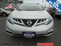 nissan murano sun visor pre owned 2014 nissan murano sl suv in lincoln 4n17780a sid