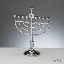 silver plated menorah traditional silver plated menorah the golden dreidle online