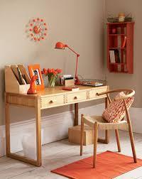 simple home decorating unique decoration simple home office orange accents decosee com