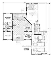 1800 sq ft house plan with 3 car garage house plans