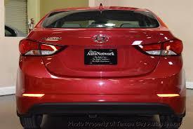 hyundai elantra 1 2014 used hyundai elantra 4dr sedan manual se at ta bay auto