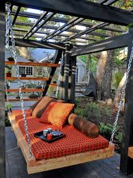 outdoor lounging spaces daybeds hammocks canopies and more hgtv